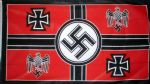 GERMAN WEHRMACHT COMMAND (NAZI) - 5 X 3 FLAG